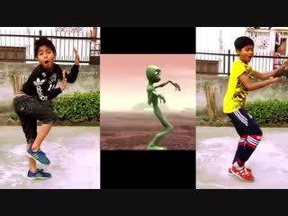 Nepalese Kids vs Alien Dance Challenge 2018 _ Crazy Frog _ ASquare Crew _Abhay n