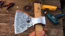 Восстановление топора из блиндажа Restoring an ax from a dugout