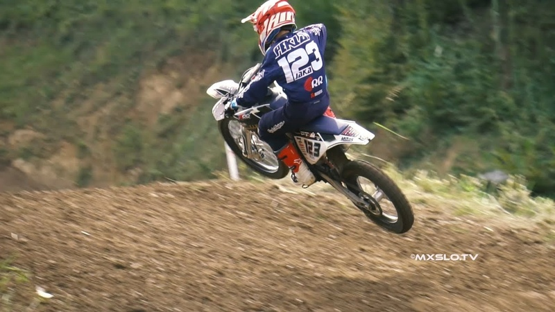 Jaka Peklaj on his Sixty Two Motosport Husqvarna tc85