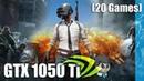 GTX 1050 Ti Gaming \ 20 Games \ Far Cry 5 PUBG etc. Gtx1050Ti