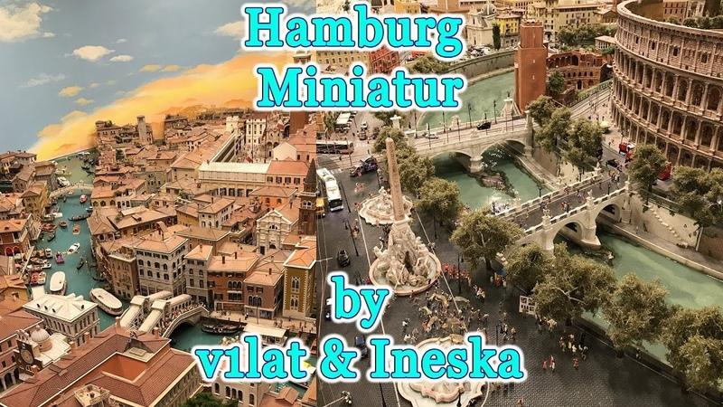 V1lat ineska in Hamburg's Miniatur Wunderland largest model railway attraction in the world