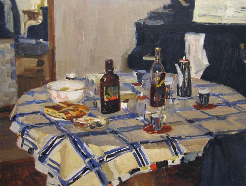 "Белов Ю., ""Гости ушли"", 1970 год"