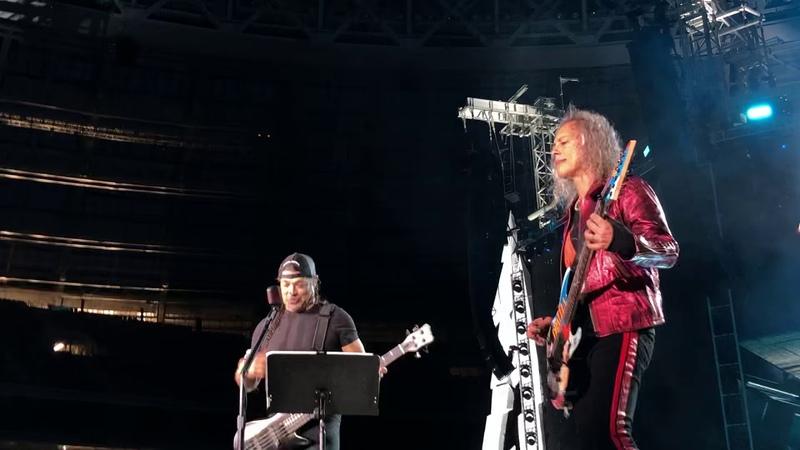 Metallica Группа Крови Металлика КИНО Groupah krovee Viktor Tsoi Moscow Luzhniki 21 07 2019
