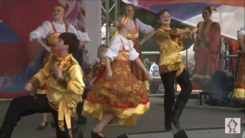 Массовый танец Удальцы Молодцы 12 июня 2019 Москва