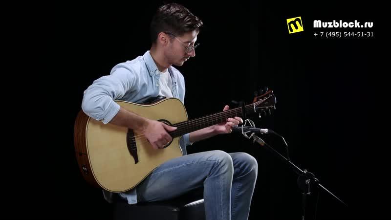 Lag THV 20DCE гитара со встроенными эффектами тизер
