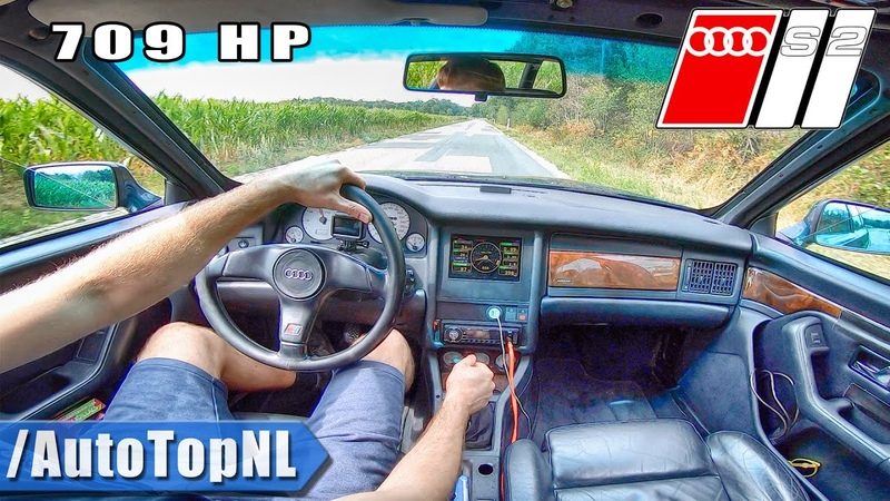 1994 AUDI S2 Avant 709HP 2.2 BIG TURBO Onboard Test Drive by AutoTopNL