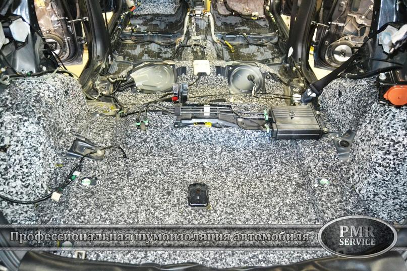 Комплексная шумоизоляция Subaru Impreza, изображение №9