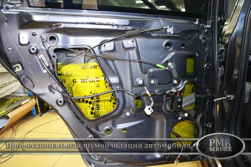 Комплексная шумоизоляция Subaru Impreza, изображение №12