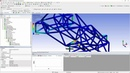 ANSYS Mechanical Student Formula SAE Chassis Analysis Part 5 Boundary Conditions and Solving