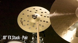 "Zildjian Sound Lab: 10"" FX Stack 