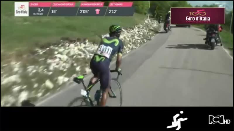 Giro dItalia 2017 9na Etapa Nairo Gran Ganador