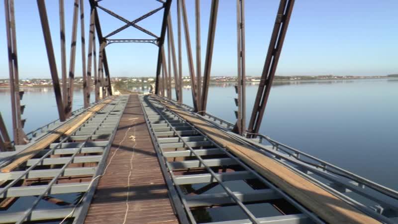 Реанимация Екатерининского моста и дамбы Прощалки