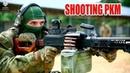 Russian Special Forces - Working with Kalashnikov PKM machine gun
