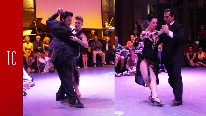 Tango Valeria Maside y Sebastián Arce y Mariana Montes y Anibal Lautaro 8 6 2019 Antwerpen TF
