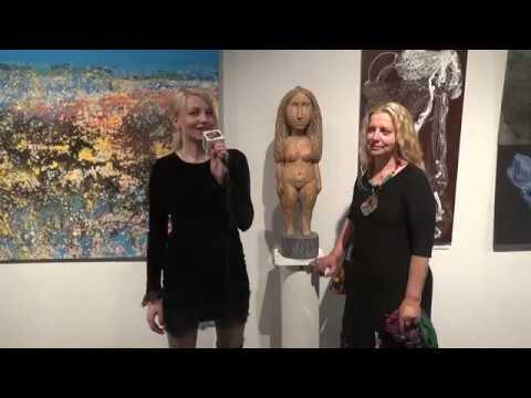 Интервью Евгении Кудриной - популярный художник, скульптор по дереву