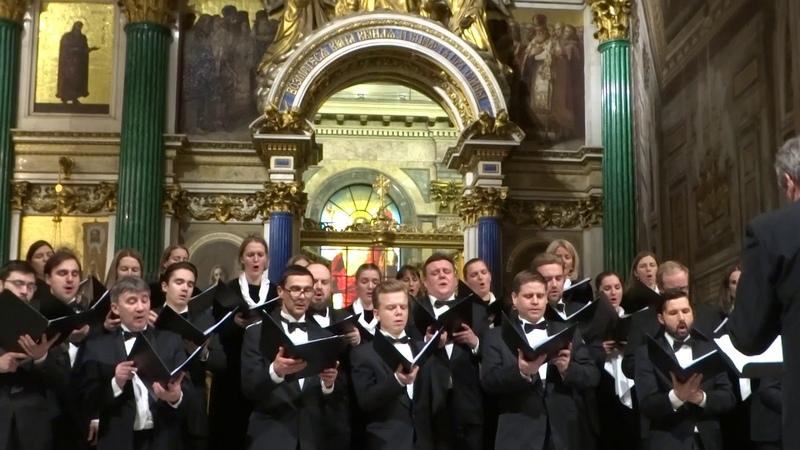 Концертный Хор СПб RAsvet144 27ноябрь2019 Исаакиевский Собор 00013