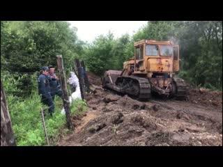МЧС России продолжает работы по подготовке к очередной волне паводка на Дальнем Востоке