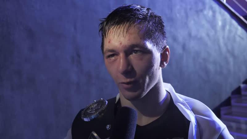 Интервью с чемпионом в 61 кг Тамерланом Кулаевым