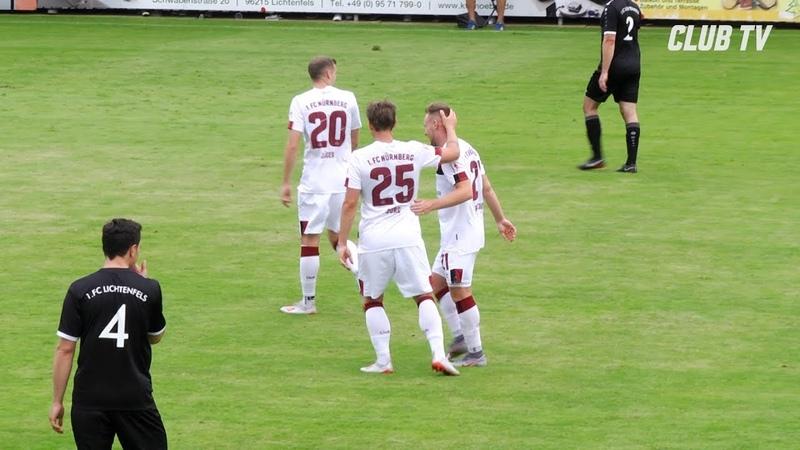 8:0! Schützenfest zum Auftakt   Testspiel   1. FC Lichtenfels - 1. FC Nürnberg