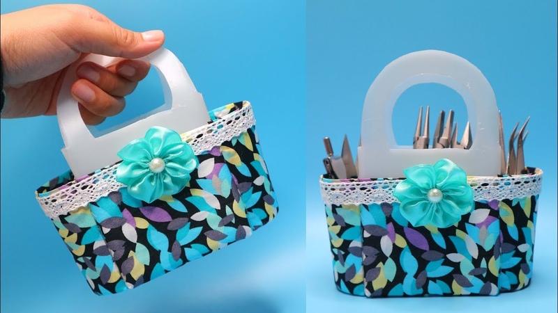 Ide Kreatif Tas dari Botol bekas ! Reuse of waste Plastic Bottle Craft Ideas !