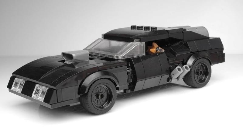 Lego Mad Max Interceptor MOC (20000 SUSCRIBERS!)