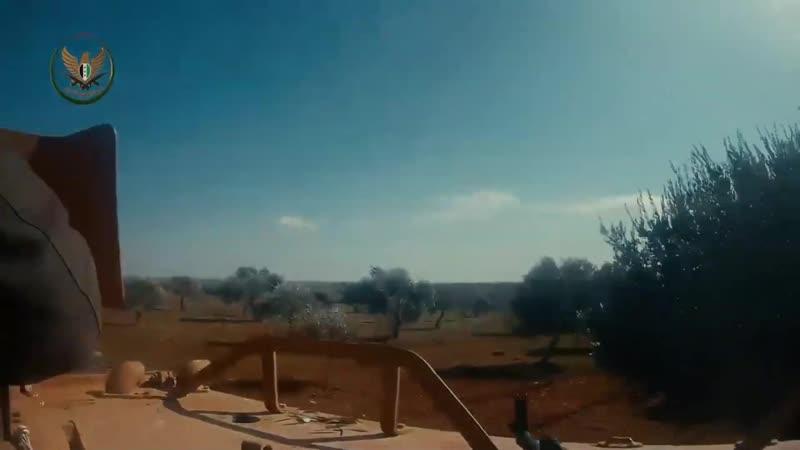 Новое видео от боевиков ССА по прошлым боям за город Найраб
