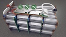LiFePo4 32700 32650 battery cell factory production and crash test