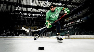 Hockey Trick Shots   Dude Perfect