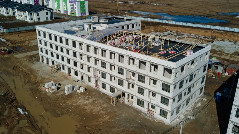 Отчет о ходе строительства апрель 2020 квартал «Среда», изображение №11