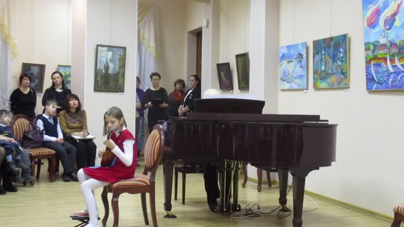 Флауб Канцонетта домра Иванова Вероника преп Афанасьева Н В концертм Антипова Н Н