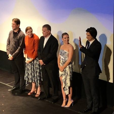 """TOBIN VIS COMMS on Instagram """"Lots of love at tiff19 for @marriagestory stars scarlettjohansson and adamdriver. @netflix is about to release on..."""
