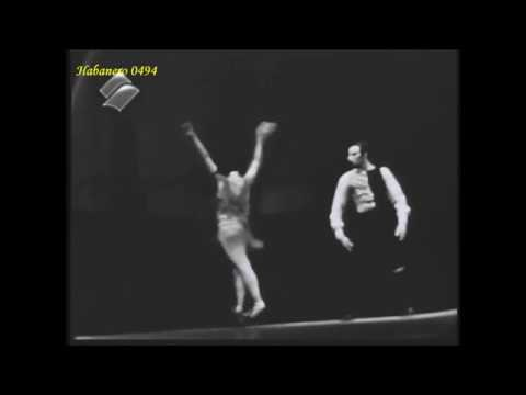 Carmen Alicia Alonso Ballet Nac Cuba Aug 4 1967