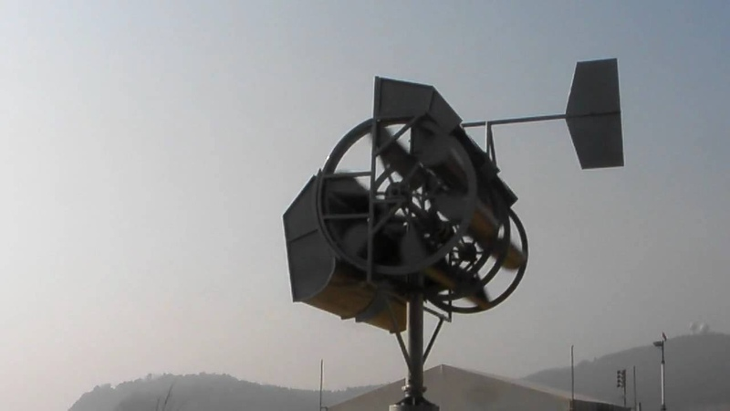 VQ WindJet, Vertical Axis, Twin Rotor Wind Turbine