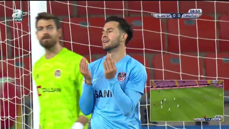Gaziantep Futbol Kulübü 3 - 0 Turgutluspor (Ziraat Türkiye Kupası 4. Tur Maçı)