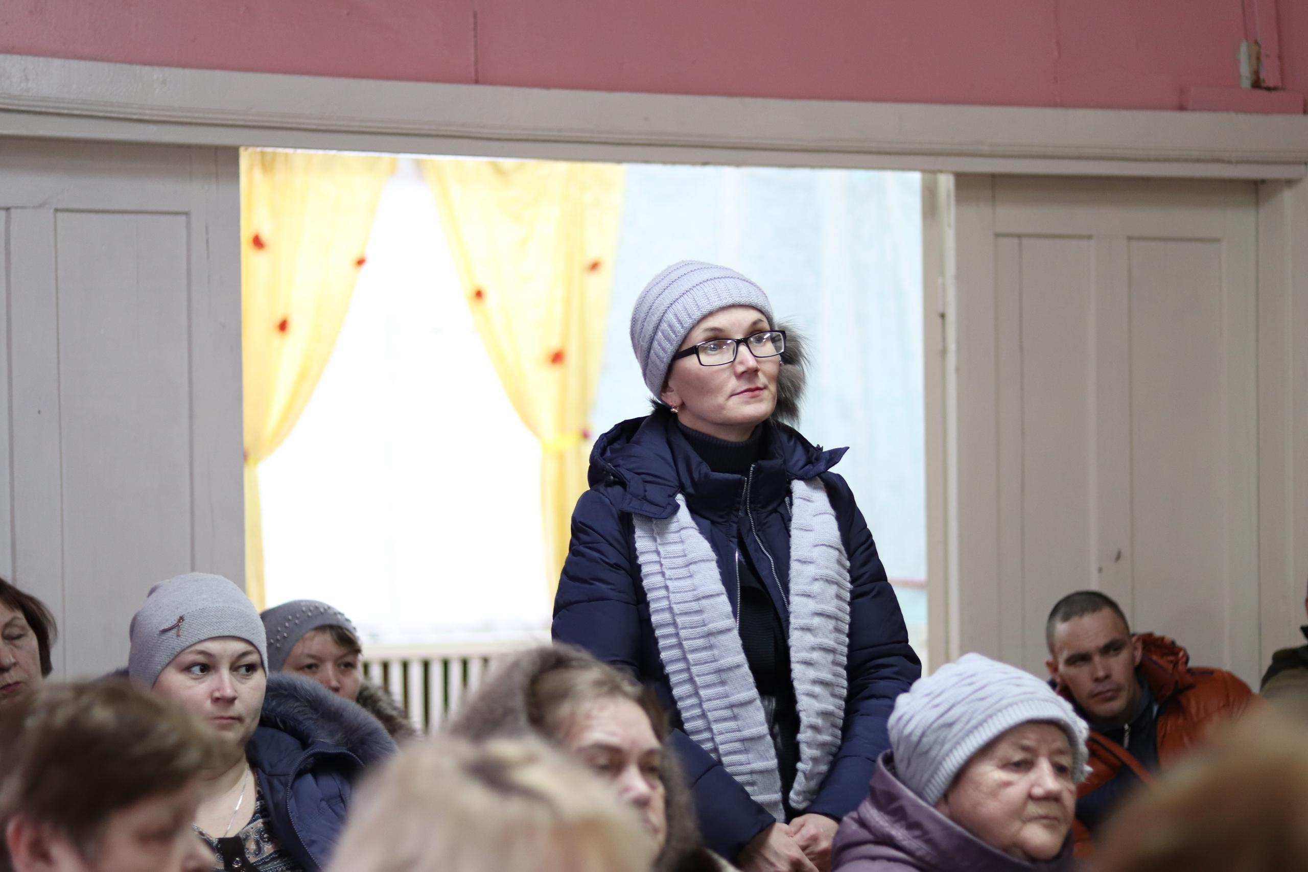 Очередные встречи Николая Жилина с населением прошли в Пыссе, Чернутьево и в Сельыбе