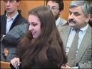 Заседание суда по делу Алины Витухновской между двумя арестами 1996 год
