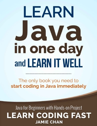 Jamie Chan] Learn Java in One Day and Learn It We