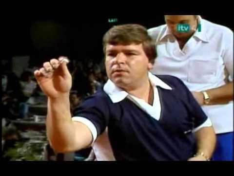 Jocky Wilson vs. Cliff Lazarenko Incident - 1985 BDO World Matchplay