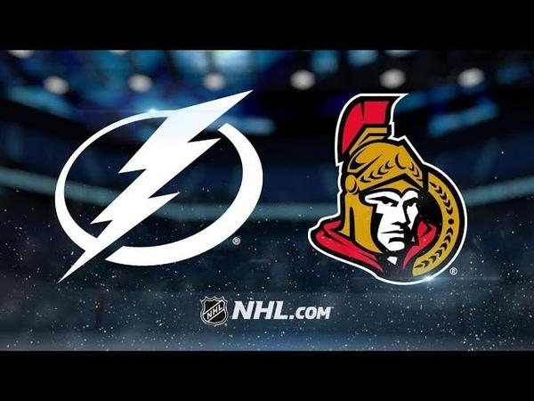 Tampa Bay Lightning vs Ottawa Senators | Oct.12, 2019 | Game Highlights | NHL 2019/20 | Обзор матча