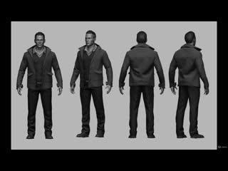 Создание реалистичной одежды для ААА игр