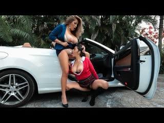 Pornomix /  Mia Martinez Blonde, Brunette, Big Tits, Pussy Licking, Lesbian, Sci-Fi