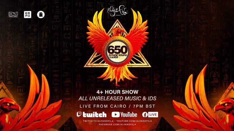 ТРАНСЛЯЦИЯ I HD 25 o5 2o2o ► Future Sound of Egypt 650 LIVE from Cairo with Aly Fila * III