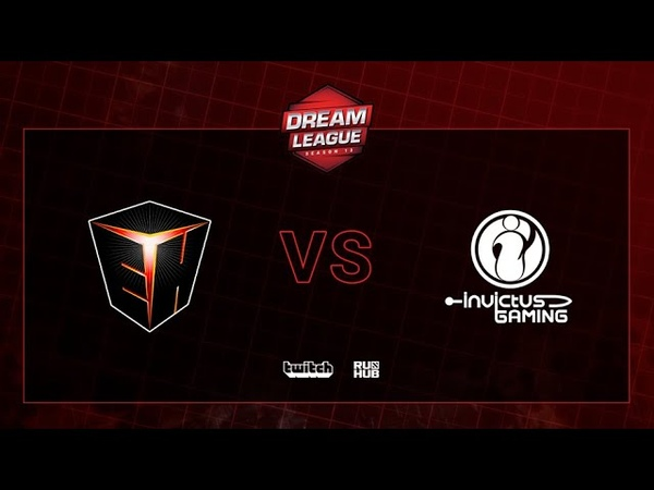 EHOME vs IG, DreamLeague S13 QL, bo3, game 1 [Adekvat]