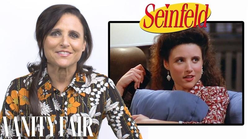 Julia Louis Dreyfus Breaks Down Her Career from Seinfeld to Veep Vanity Fair