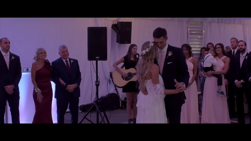 Acoustic First Dance to Elvis' Can't Help Falling In Love With You with Kathleen Elle