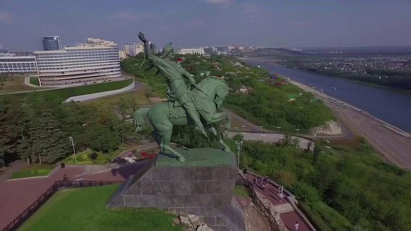 Уфа. Памятник Салавату Юлаеву.