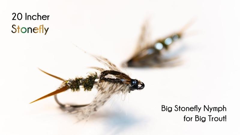 20 Incher Stonefly Nymph McFly Angler Fly Tying Tutorials