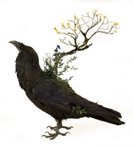 Художница Эллен Джуитт (Ellen Jewett) создает скульптуры животных в стиле фэнтези. Работы Эллен отличаются одновременно и сказочностью, и