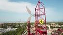 Аэросъемка Ferrari land Portaventura Феррари Ленд Порт авентура