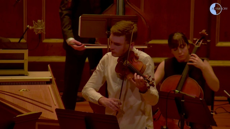 A Far Cry with Stefan Jackiw Alexi Kenney Bach Concerto for Two Violins in D Minor I Vivace